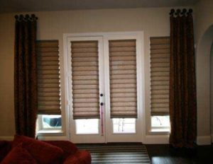 Modern Roman Shades for windows
