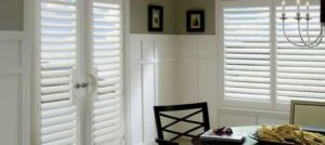 Plantation Shutters in a room
