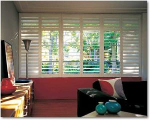 Light coming in bedroom through NewStyle Shutters