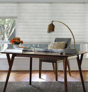 Furnished Home Office by Read Design Window Fashions