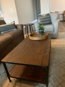 Cocktail Table in Living Room