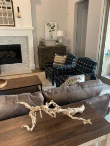 Interior Design for Living Room in Plano, TX