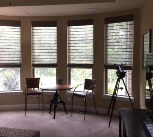 Woven Wood Shades in Plano, TX