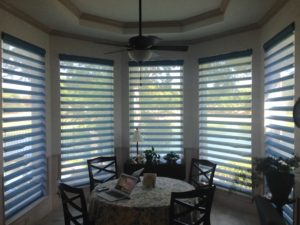 hunter doulas pirouette shades installed by read design in south lake, tx