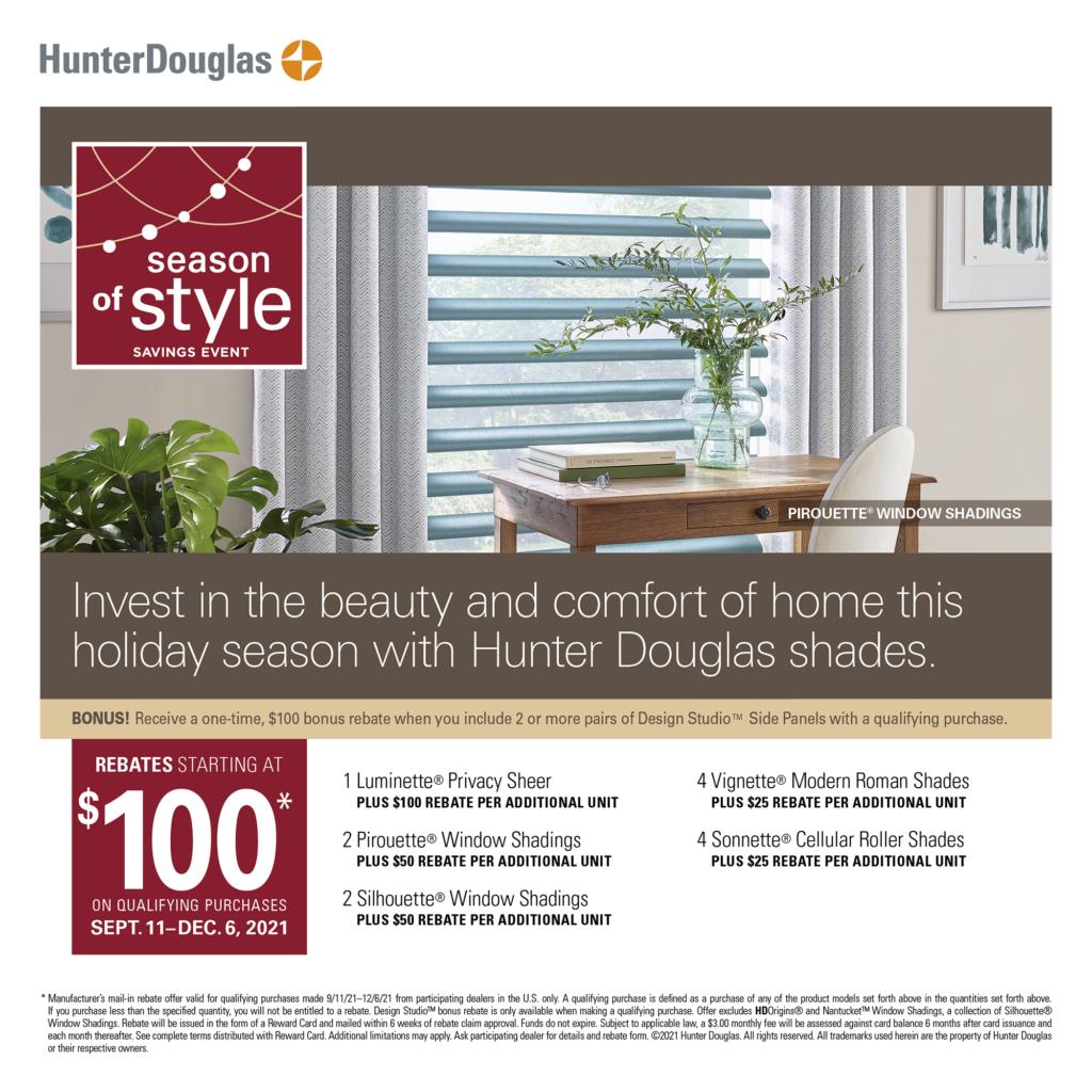 Hunter Douglas Banner